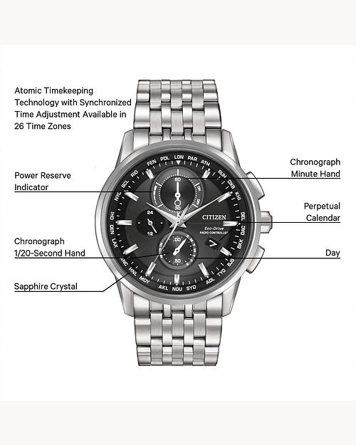 World Chronograph A-T image number 3
