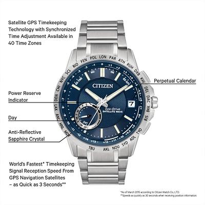 Satellite Wave - World Time GPS