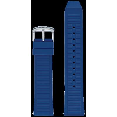 Blue Silicone Strap