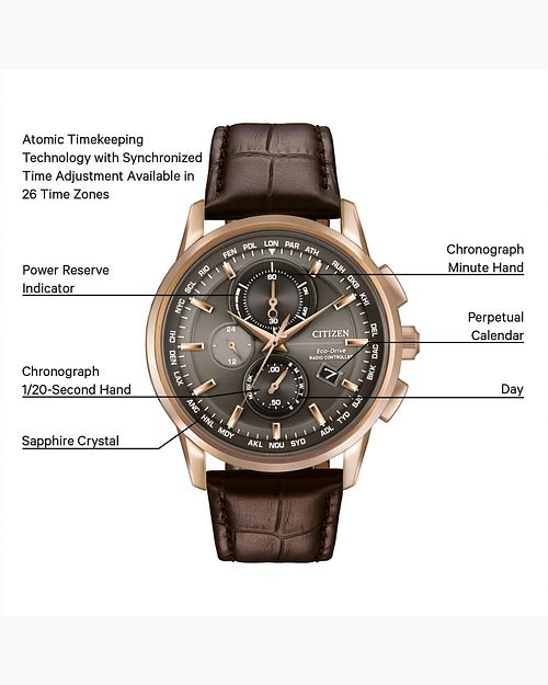 World Chronograph A-T image number 1